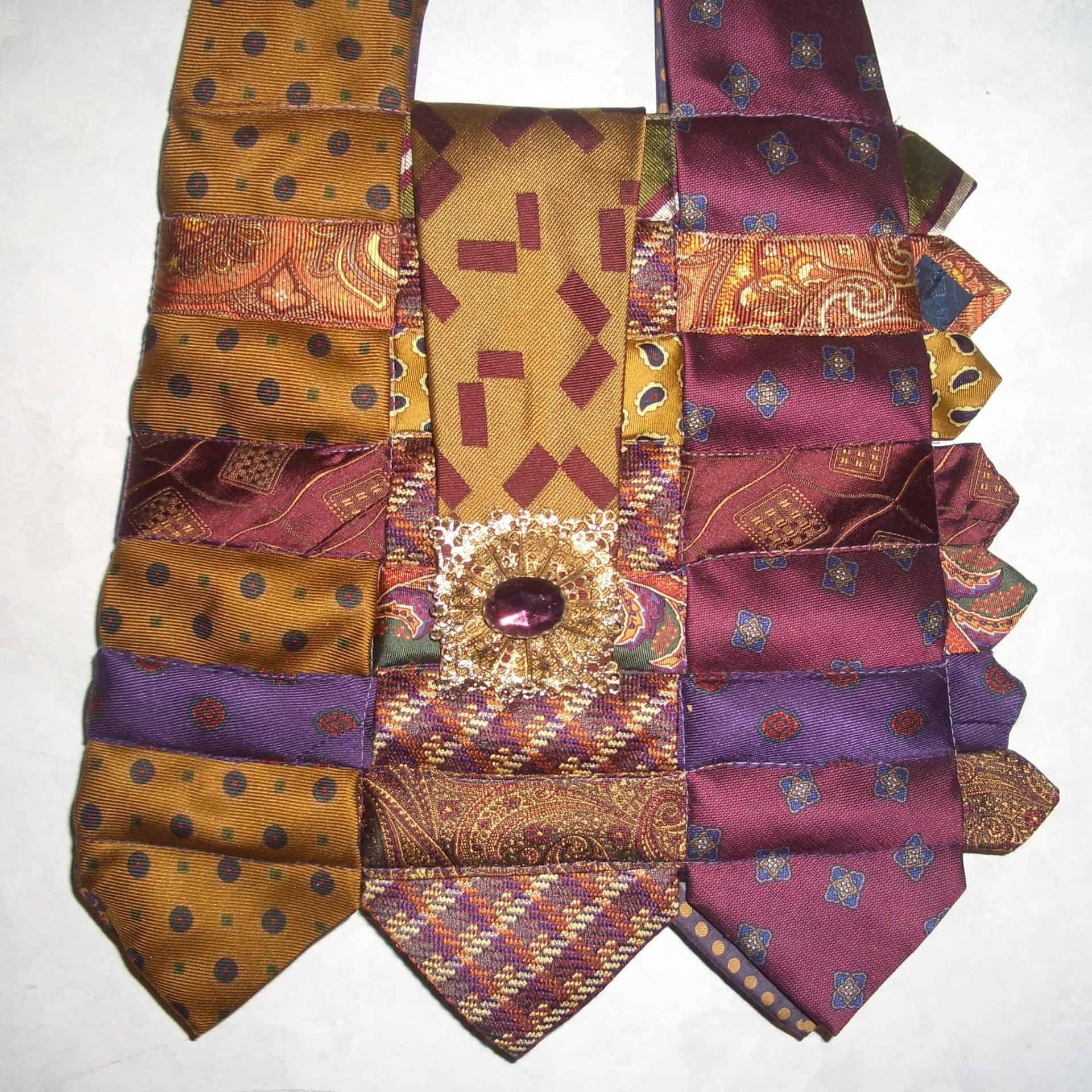 Lynn's Necktie Handbag