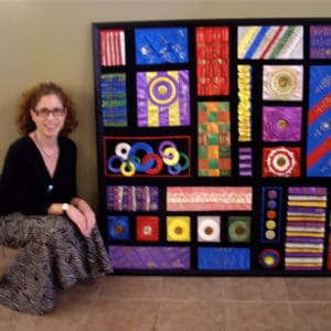 Read more about the article Dog Show Ribbons Meet Mondrian